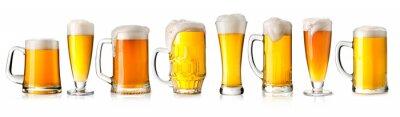 Nálepka pivní sklenice