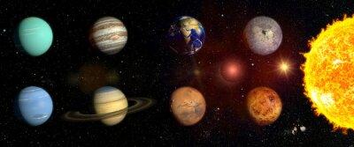 Nálepka Planet naší sluneční soustavy