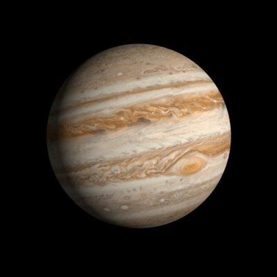 Nálepka Planeta Jupiter