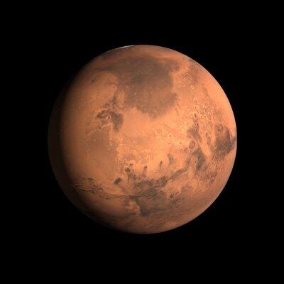 Nálepka Planeta Mars