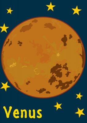 Nálepka Planeta Venuše