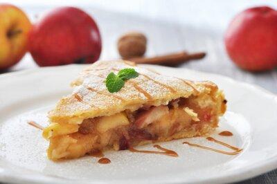 Nálepka Plátek domácí jablečný koláč