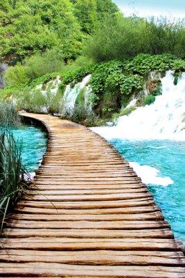 Nálepka Plitvická jezera magická jízdy, Chorvatsko
