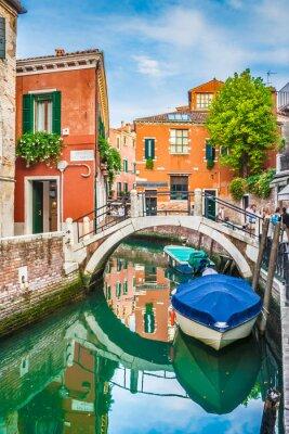 Nálepka Pohlednice pohled na Benátky, Itálie