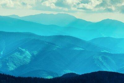 Nálepka Pohoří v létě