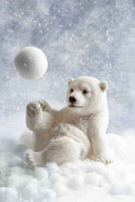 Nálepka Polar Bear dekorace