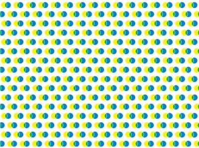 Nálepka polka dot bílá bezproblémové vektorové vzorek