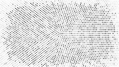 Nálepka Polotónové polotónované pozadí. Vektorový vzor polotónového efektu. Kruh bodky izolovaných na bílém pozadí.