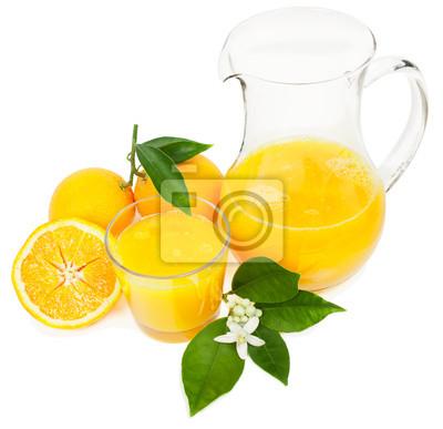 Nálepka Pomerančový džus