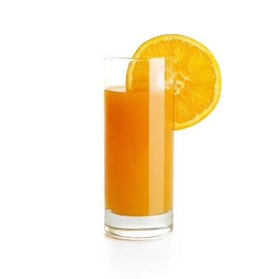Nálepka Pomerančový džus s plátkem
