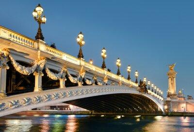 Nálepka pont Alexandre, Paříž