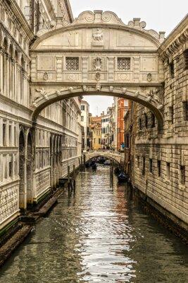 Nálepka Ponte dei Sospiri, Benátky, Itálie