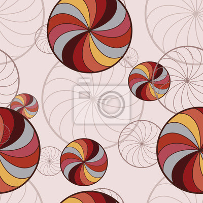 pozadí s rotující kruhy