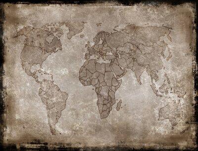 Nálepka pozadí, staré mapy
