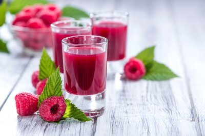 Nálepka Raspberry Liqueur