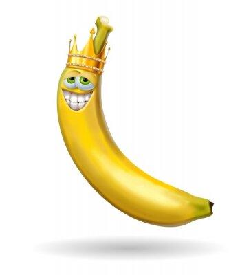 Nálepka re banánem
