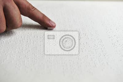 Nálepka Reading Braillovo písmo