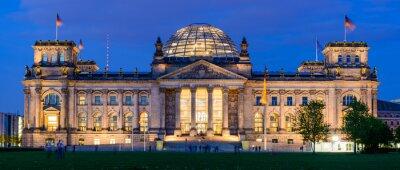 Nálepka Reichstag stavba v Berlíně