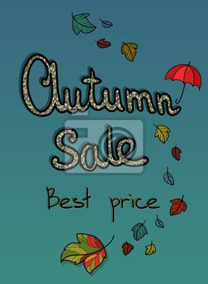 reklama prodej na podzim