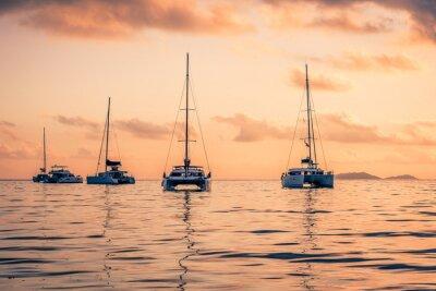 Nálepka Rekreační jachty v Indickém oceánu