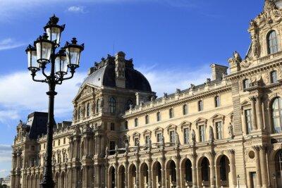 Nálepka Renesanční architektura v muzeu Louvre, Paříž
