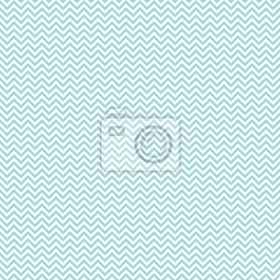 Nálepka Retro bezešvé vzor Mini Chevron Turquoise