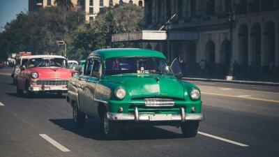 Nálepka Retro: Oldtimer Havana | Kuba