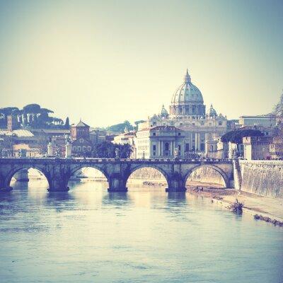 Nálepka Řím