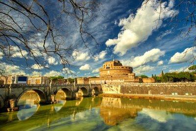 Nálepka Řím - Castel Saint Angelo, Itálie
