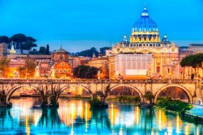 Nálepka Řím, Itálie.