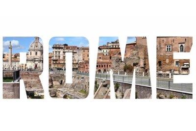 Nálepka Řím znamení