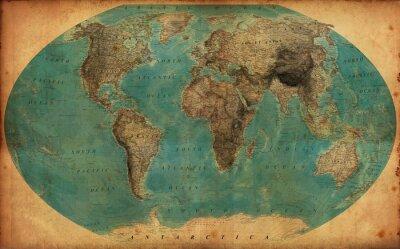 Nálepka ročník mapa