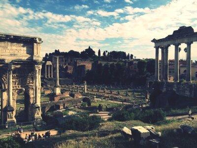 Nálepka Roman Forum, Rome