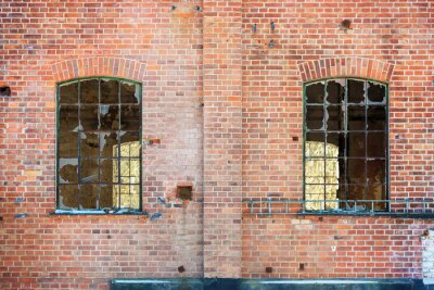 Nálepka rozbitá okna