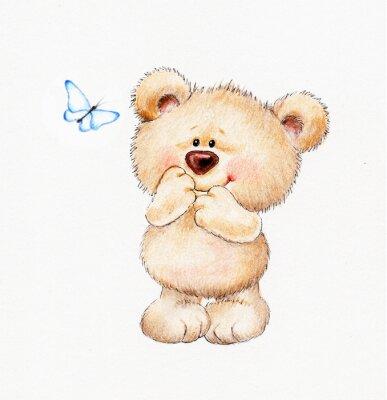 Nálepka Roztomilý medvídek