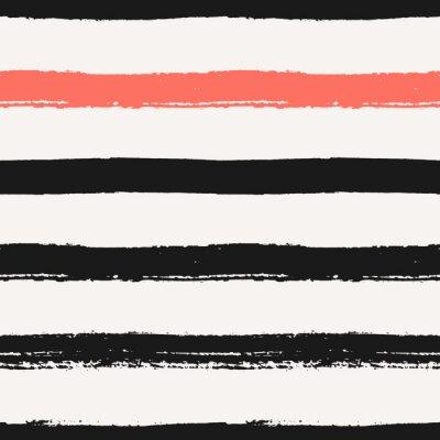 Nálepka Ručně malovaná Stripes bezešvé vzor
