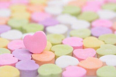 Nálepka Růžové srdce Cndy