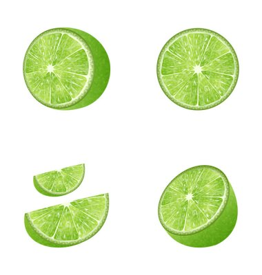 Nálepka Sada ovoce Lime