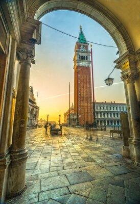 Nálepka San Marco, Benátky, Itálie