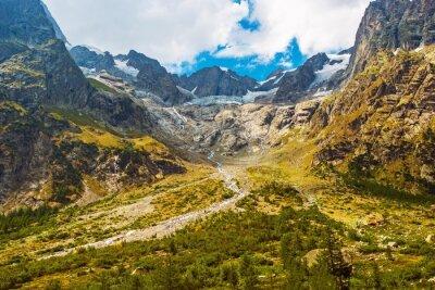 Nálepka Scénické horské krajiny