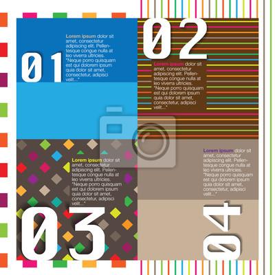 Scrapbook a infografiky prvek