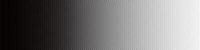 Nálepka Screentone Graphics_Halftone Gradation_Black