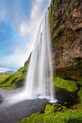 Nálepka Seljalandsfoss vodopád