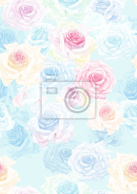 Set of card with flower rose, leaves. Wedding ornament concept. Floral poster, invite. Decorative greeting card, invitation design background, seamless background.