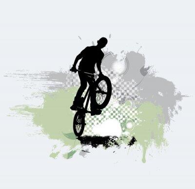 Nálepka Silueta jízdních kol