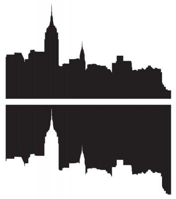 Nálepka Skyline v New Yorku