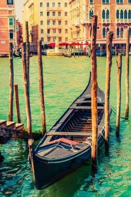 Nálepka Slavné Benátky Gondola