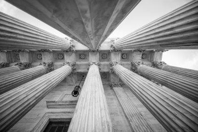 Nálepka Sloupce u Nejvyššího soudu USA