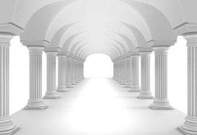 Nálepka Sloupec Tunnel