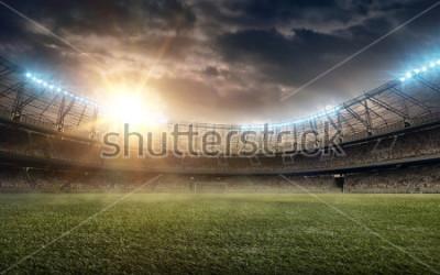 Nálepka soccer field